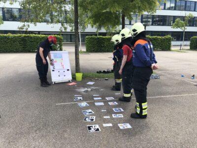 Übung Brandbekämpfung in Kaiseraugst 29.05.2021