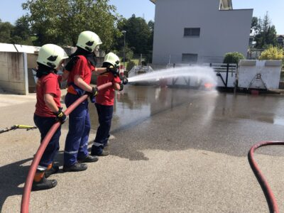 Brandbekämpfung in Möhlin am 14.08.2021